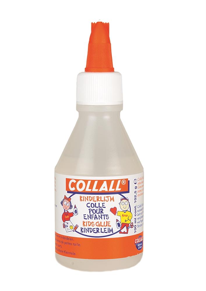 Flacon de 100ml de colle liquide pour enfants rentr e des classes - Colle giotto transparente ...