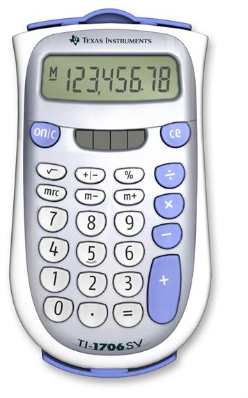 Calculatrice TI-1706SV