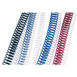 Bte de 100 reliures GBC Color Coils 6 mm blanc