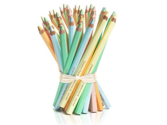 Bte à 30 crayons couleurs épais Caran d'Ache