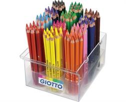 Pack école de 120 gros crayons de couleur