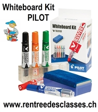 Kit Whiteboard Boardmarkers Pilot V-Board Begreen Pointe Conique Moyenne