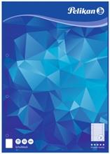 Pelikan Bloc de papier, A4, 50 feuilles, ligné
