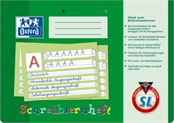 Oxford Cahier d'apprentissage, DIN A4 oblong, Lineature : SL