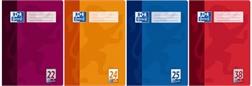 Oxford cahier, format A4, linéature 24 / blanc, 16 feuilles