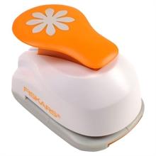 "FISKARS Perforatrice à levier S ""marguerite"", blanc / orange"