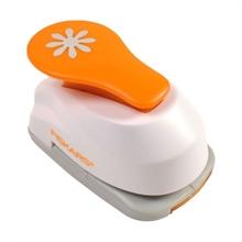 """FISKARS Perforatrice à levier M """"fleur"""", blanc / orange"""