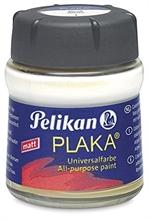 Pelikan Plaka, blanc (No. 1), contenu: 50 ml dans un flacon
