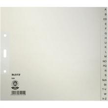 LEITZ Intercalaire en papier naturel, A-Z, A4+, mi-hauteur