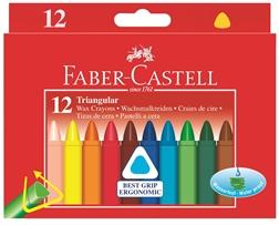 Crayons de cire triangulaires