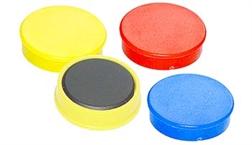 Aimants 20 mm couleur