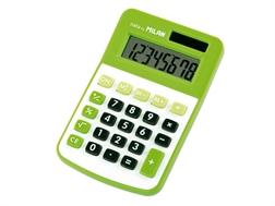 Calculatrice Milan 8 chiffres verte