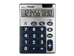 Calculatrice Milan 10 chiffres Silver bleu