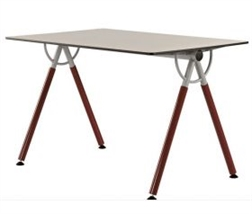 Table rectangulaire XEOS
