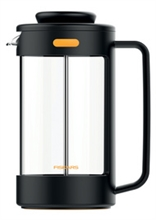 FISKARS Cafetière à piston, 1 litre, pour la préparation du