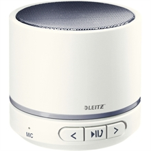 LEITZ Mini enceinte Bluetooth WOW Duo Colour, blanc