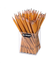 En pot de 36 crayons HB