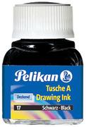 Pelikan Encre de chine A, contenu: 10 ml dans flacon, noir
