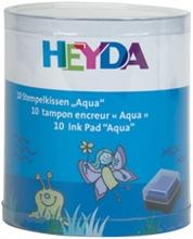 Kit de 10 tampons encreurs Aqua