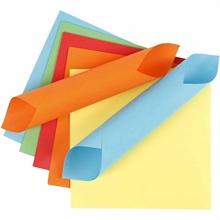 Pqt de 400 flles papier origami