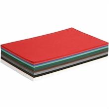 Pqt de 300 flles papier cartonné *Noël*, A4 180gm2 ass