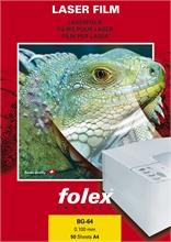 Bte de 50 films pour imprimantes laser FOLEX BG-64