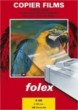 Bte de 100 transparents Folex X-100