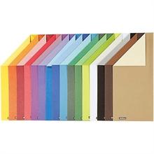Pqt de 160 flles papier àdessin 2 couleurs recto-verso 250gm2