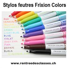 Stylo feutre Frixion Colors