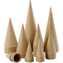 Pack scolaires de 50 cônes - Assortiment, h: 4-20 cm,