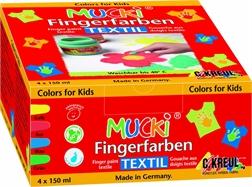 """Gouache aux doigts textile """"MUCKI"""", 150 ml"""