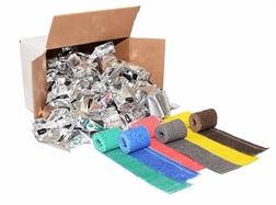 Pack de 8 Bandes plâtrées de modelage 2 mètres x 60mm en couleur