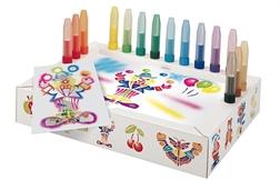 Pack Ecole de 15 stylos feutres Aérographe Malinos + set activity