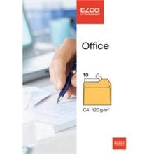 Pqt de 10 enveloppes OFFICE C4 fermeture autocollante