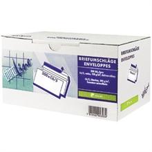Box de 200 Enveloppes BUROLINE C6 - sans fenêtre