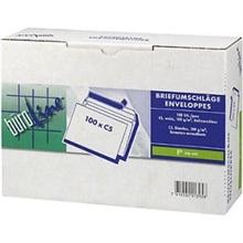 Box de 100 Enveloppes BUROLINE C5 sans fenêtre
