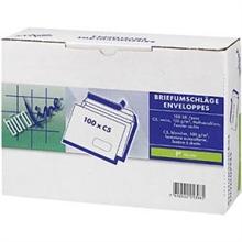 Box de 100 Enveloppes BUROLINE C5 fenêtre à droite