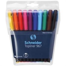 Etui de stylos feutres Schneider Topliner 967 ass.
