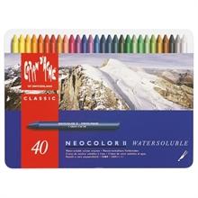 Neocolor II boîte de 40 ass.