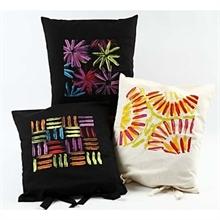 Set de 5 pots de peinture Textile Color néons, 5x50ml