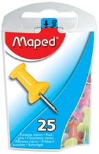 Maped Punaises, couleurs assorties, boîte de distribution