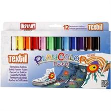 Etui à 12 feutres Textile Playcolor