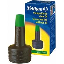 Pelikan Encre à tampon 4K, vert, contenu: 28 ml