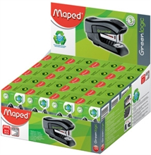 Maped Agrafeuse Mini Standard Greenlogic, présentoir de 20,