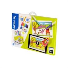 PILOT Album interactif SWFCSET6  12 stylos avec livre de coloriage  MY FRIX BOOK