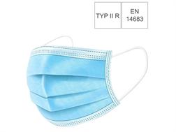 Bte de 50 masques d'hygiène type II R 34133 - 3 couches, EN 14683