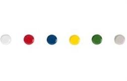 Aimants 15 mm couleur