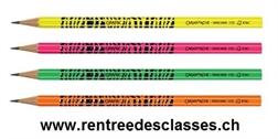 Crayons d'écolier Caran d'Ache GRAFIK