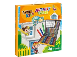 BIC Kids Activiy Case 961558 64 pcs. ass.
