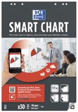 "Oxford Bloc flipchart ""Smart Chart"", 30 feuilles, uni"